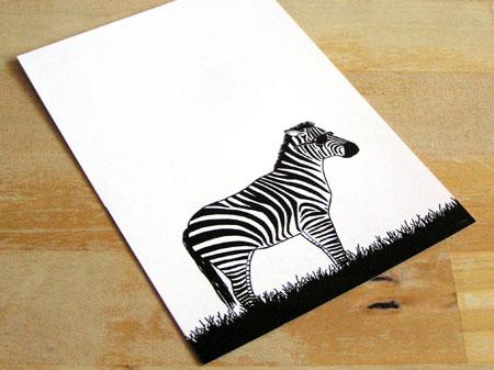 zebraPostcard
